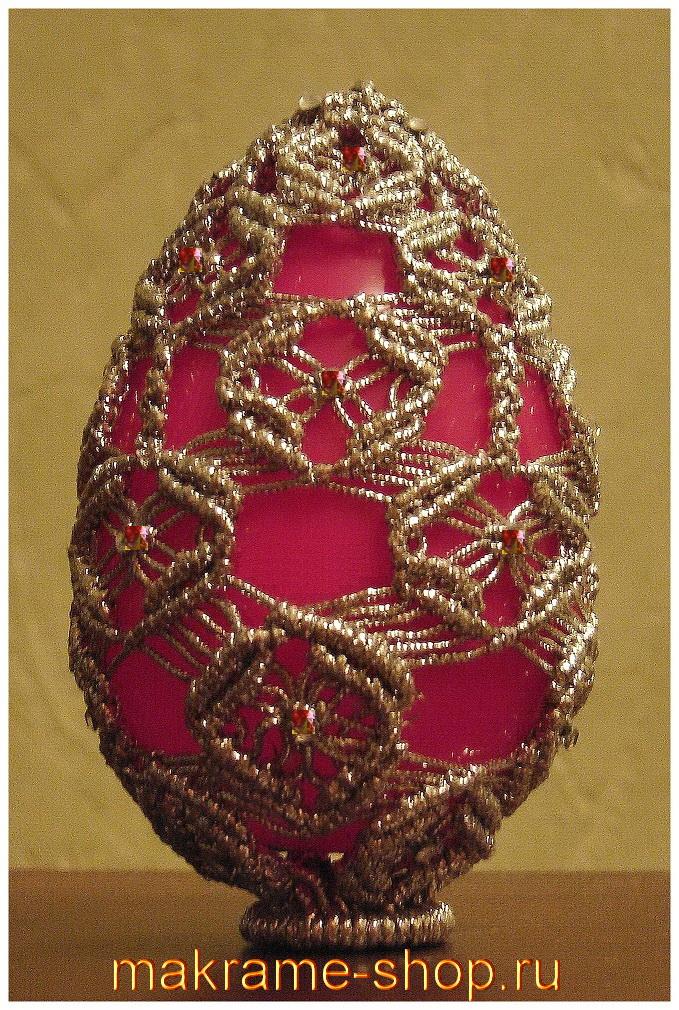 Пасхальный сувенир-макраме (Антонина Куликова)