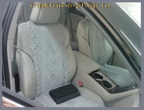 Накидки для автомобильного сидения своими руками