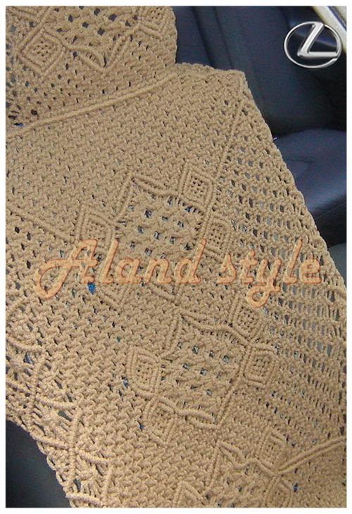 Заказать плетеные авточехлы на кожаные сиденья