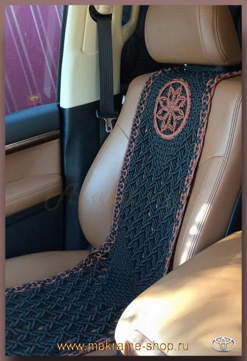 Плетеные накидки - в Toyota Land Cruiser 200