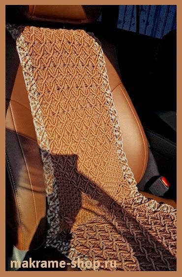 Плетеные накидки для Toyota Land Cruiser 200