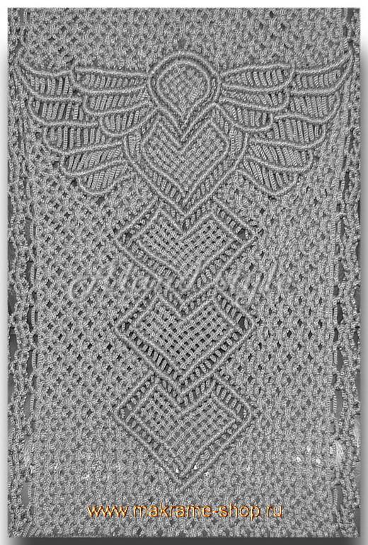 Дизайн серых плетеных накидок