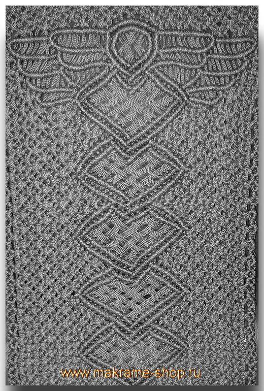 Дизайн накидок-макраме с крыльями