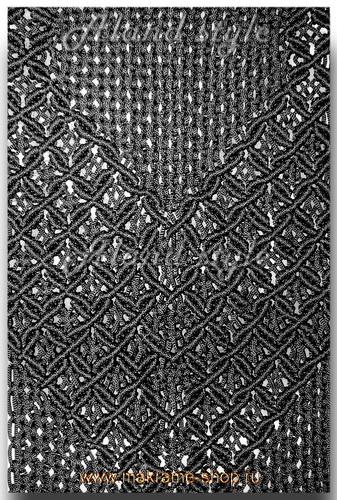 Узор плетеных накидок на сиденья