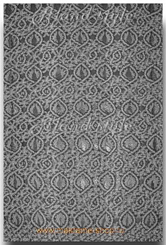 Узор серо-черных плетеных накидок