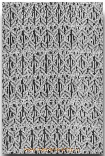 Серый узор плетеных накидок