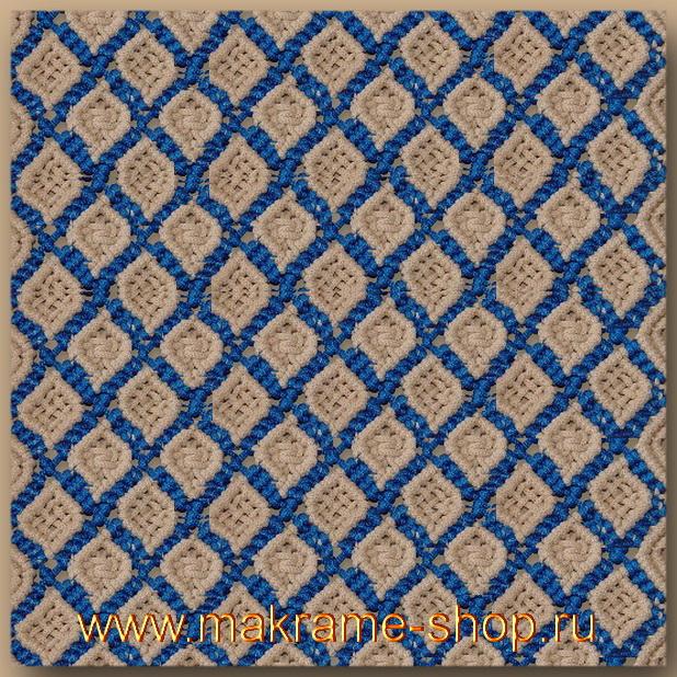 Плетеный коврик carpet11