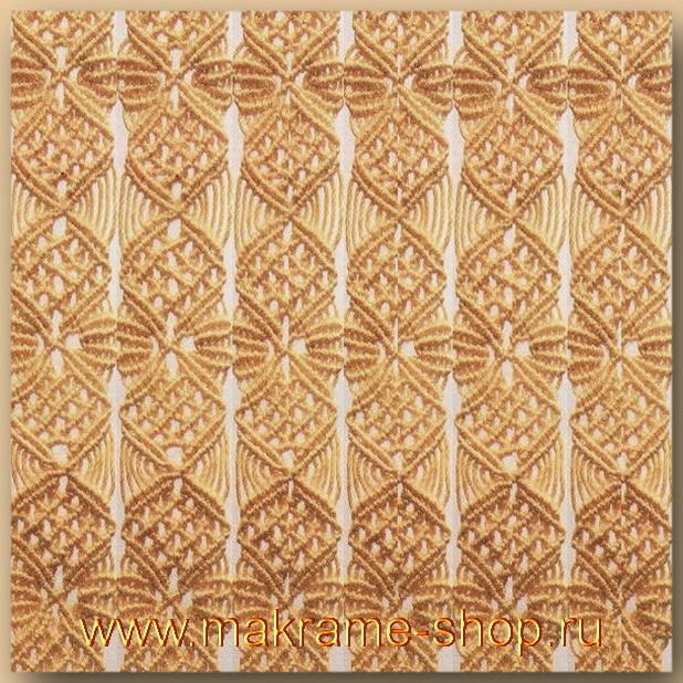 Узор макраме для коврика 15