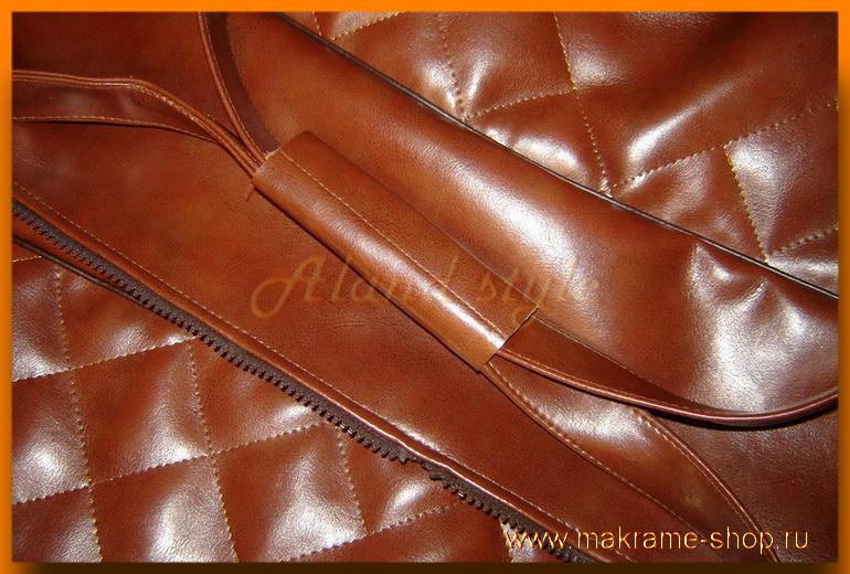 Удобная ручка сумки для гамака-макраме
