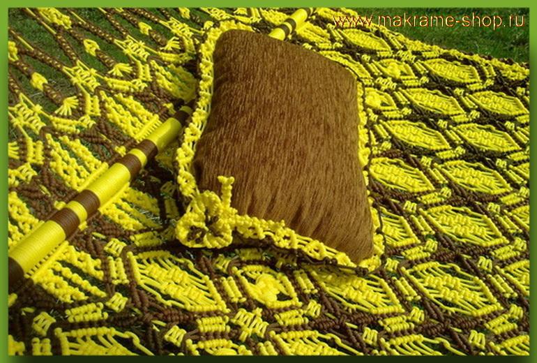 Подушки для гамака макраме Jamaica