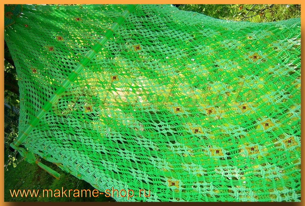 Элитный гамак-макраме