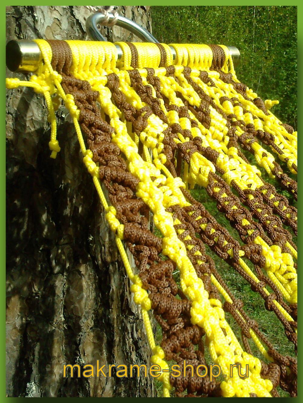 Специальная конструкция гамака макраме Jamaica