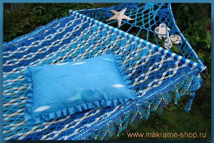 Элитный гамак-макраме Bahamas на заказ