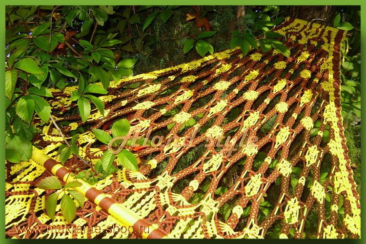 Уникальный гамак-макраме Jamaica на заказ
