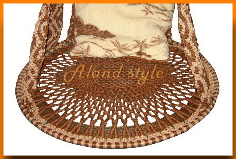Элитное подвесное кресло Sultan на заказ
