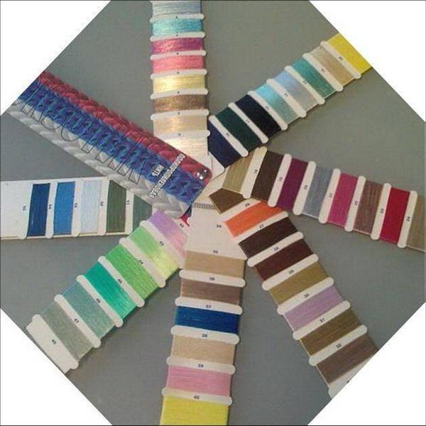 Шнуры для плетеных накидок макраме