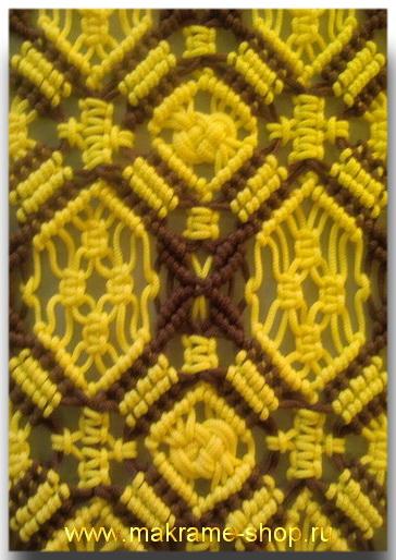 Создание новых схем плетения макраме.