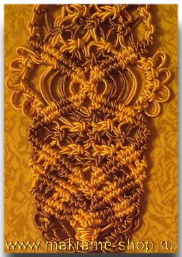 Создание новых схем плетения макраме
