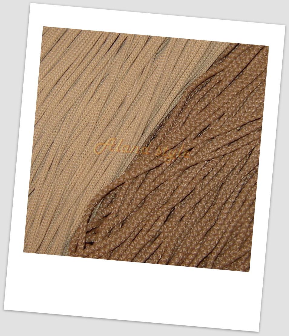 Шнуры для макраме бежевых оттенков